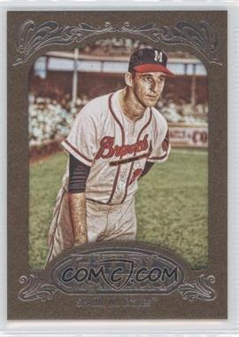 2012 Topps Gypsy Queen Retail [Base] Gold Paper Frame #265 - Warren Spahn
