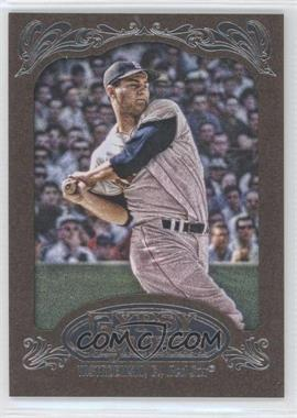 2012 Topps Gypsy Queen Retail [Base] Gold Paper Frame #266 - Carl Yastrzemski