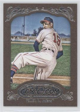 2012 Topps Gypsy Queen Retail [Base] Gold Paper Frame #267 - Bob Feller