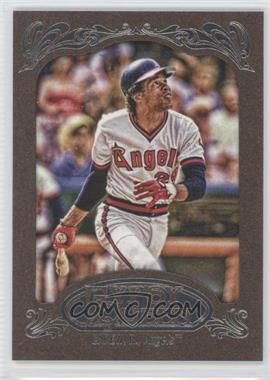 2012 Topps Gypsy Queen Retail [Base] Gold Paper Frame #268 - Rod Carew