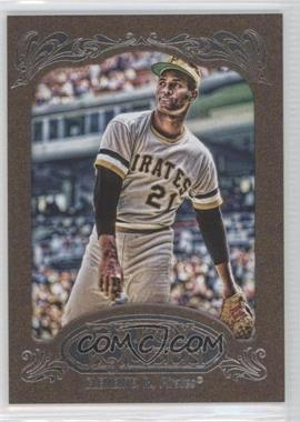 2012 Topps Gypsy Queen Retail [Base] Gold Paper Frame #270 - Roberto Clemente