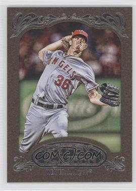 2012 Topps Gypsy Queen Retail [Base] Gold Paper Frame #271 - Jered Weaver