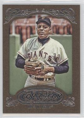 2012 Topps Gypsy Queen Retail [Base] Gold Paper Frame #280 - Willie Mays