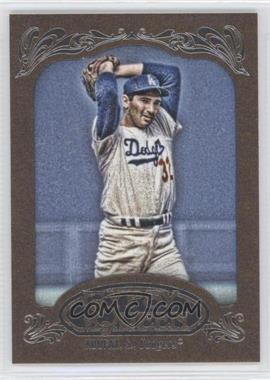 2012 Topps Gypsy Queen Retail [Base] Gold Paper Frame #290 - Sandy Koufax