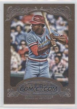 2012 Topps Gypsy Queen Retail [Base] Gold Paper Frame #297 - Lou Brock