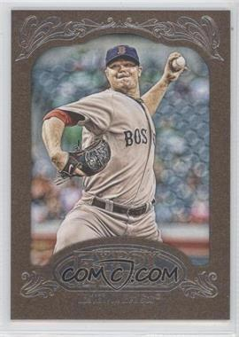 2012 Topps Gypsy Queen Retail [Base] Gold Paper Frame #35 - Jon Lester