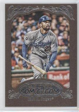 2012 Topps Gypsy Queen Retail [Base] Gold Paper Frame #44 - Matt Kemp