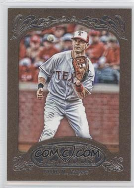 2012 Topps Gypsy Queen Retail [Base] Gold Paper Frame #57 - Michael Young