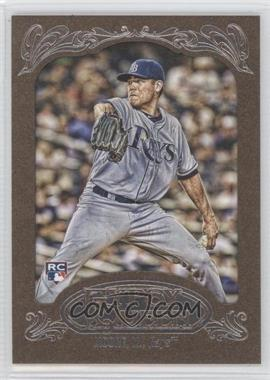 2012 Topps Gypsy Queen Retail [Base] Gold Paper Frame #6 - Matt Moore