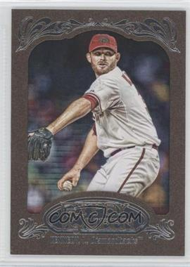 2012 Topps Gypsy Queen Retail [Base] Gold Paper Frame #71 - Ian Kennedy
