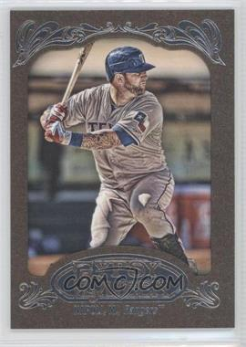 2012 Topps Gypsy Queen Retail [Base] Gold Paper Frame #76 - Mike Napoli