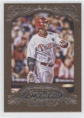 2012 Topps Gypsy Queen Retail [Base] Gold Paper Frame #83 - Ryan Howard