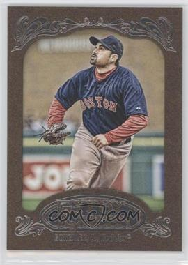 2012 Topps Gypsy Queen Retail [Base] Gold Paper Frame #92 - Adrian Gonzalez