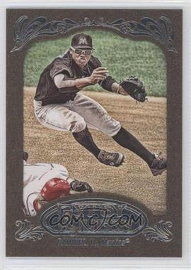 2012 Topps Gypsy Queen Retail [Base] Gold Paper Frame #99 - Hanley Ramirez