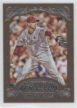 2012 Topps Gypsy Queen Retail Gold #10 - Roy Halladay