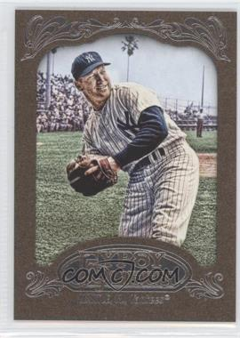 2012 Topps Gypsy Queen Retail Gold #120 - Mickey Mantle