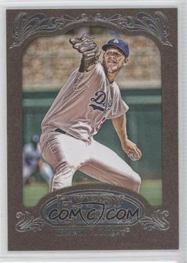 2012 Topps Gypsy Queen Retail Gold #135 - Clayton Kershaw