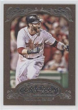2012 Topps Gypsy Queen Retail Gold #143 - Dustin Pedroia
