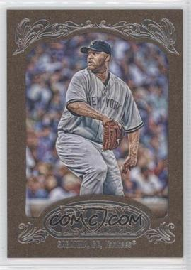 2012 Topps Gypsy Queen Retail Gold #150 - CC Sabathia