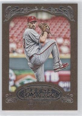 2012 Topps Gypsy Queen Retail Gold #170 - Cliff Lee