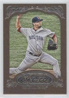 2012 Topps Gypsy Queen Retail Gold #174 - Josh Beckett