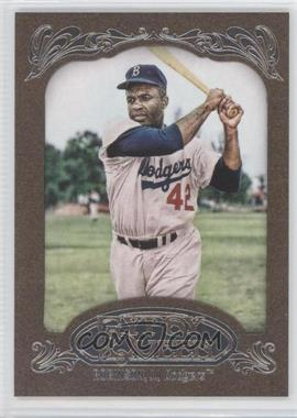 2012 Topps Gypsy Queen Retail Gold #18 - Jackie Robinson