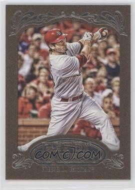 2012 Topps Gypsy Queen Retail Gold #197 - David Freese