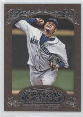 2012 Topps Gypsy Queen Retail Gold #200 - Felix Hernandez