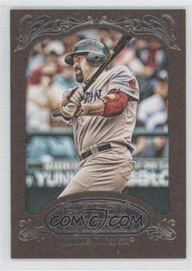 2012 Topps Gypsy Queen Retail Gold #22 - Kevin Youkilis