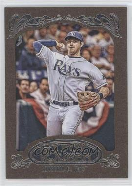 2012 Topps Gypsy Queen Retail Gold #230 - Evan Longoria