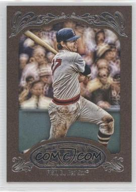 2012 Topps Gypsy Queen Retail Gold #234 - Carlton Fisk