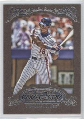 2012 Topps Gypsy Queen Retail Gold #245 - Darryl Strawberry