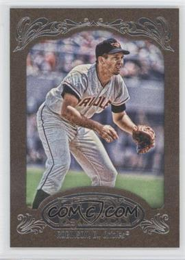 2012 Topps Gypsy Queen Retail Gold #254 - Brooks Robinson