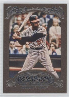 2012 Topps Gypsy Queen Retail Gold #255 - Frank Robinson