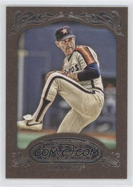 2012 Topps Gypsy Queen Retail Gold #256 - Nolan Ryan