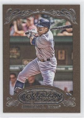 2012 Topps Gypsy Queen Retail Gold #260 - Curtis Granderson