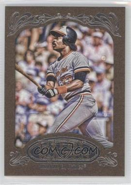 2012 Topps Gypsy Queen Retail Gold #263 - Eddie Murray