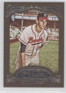 2012 Topps Gypsy Queen Retail Gold #265 - Warren Spahn