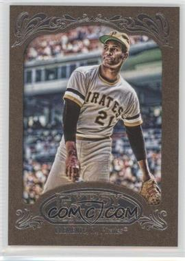 2012 Topps Gypsy Queen Retail Gold #270 - Roberto Clemente