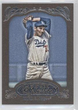 2012 Topps Gypsy Queen Retail Gold #290 - Sandy Koufax