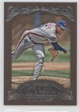 2012 Topps Gypsy Queen Retail Gold #295 - Dwight Gooden