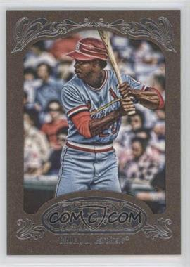 2012 Topps Gypsy Queen Retail Gold #297 - Lou Brock
