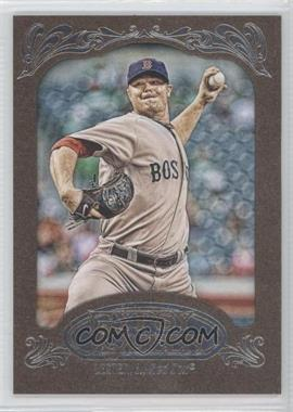 2012 Topps Gypsy Queen Retail Gold #35 - Jon Lester
