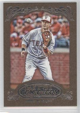 2012 Topps Gypsy Queen Retail Gold #57 - Michael Young