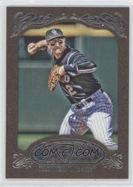 2012 Topps Gypsy Queen Retail Gold #69 - Troy Tulowitzki
