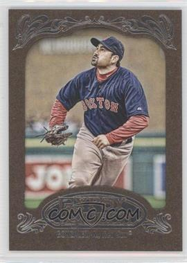 2012 Topps Gypsy Queen Retail Gold #92 - Adrian Gonzalez