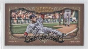 2012 Topps Gypsy Queen Sliding Stars Minis #SS-DP - Dustin Pedroia