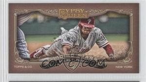 2012 Topps Gypsy Queen Sliding Stars Minis #SS-JRO - Jimmy Rollins