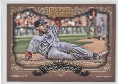 2012 Topps Gypsy Queen Sliding Stars #SS-DP - Dustin Pedroia