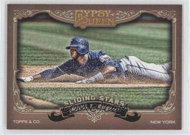 2012 Topps Gypsy Queen Sliding Stars #SS-EA - Elvis Andrus